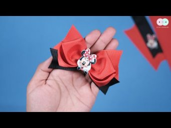 DIY Hair Clips / Hair Tie Ideas For Baby Girl - Easy Step by Step By Elysia Handmade #13