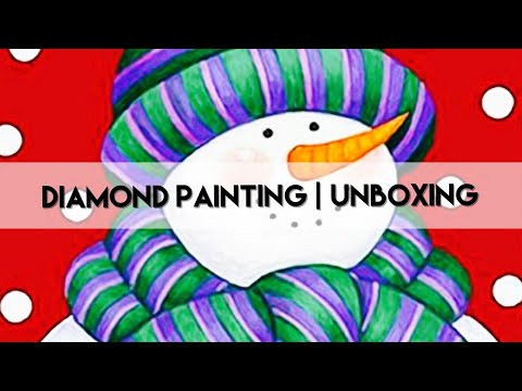 Diamond Painting - Unboxing | Everydayecrafts Pt1