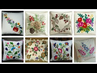 Beautiful Stylish Hand Embroidery Cushion Covers Designs 2020 Collection / Cushion Cover Designs