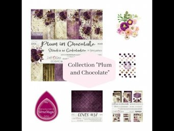 "ScrapMerveilleux Nouveautés ""collection Plum in Chocolate"""