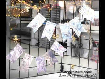 How To Make Quick And Easy Festive Bunting