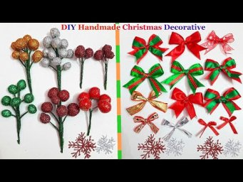 DIY Handmade Christmas decorative/ornament making ideas at home|Easy Economical Christmas craft idea