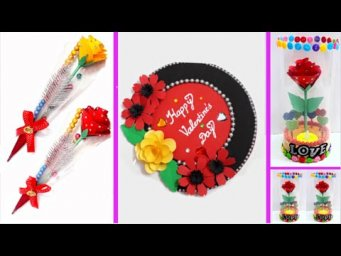 DIY 3 Valentine day special craft idea on budget| Valentine day Craft ideas (Part 10)