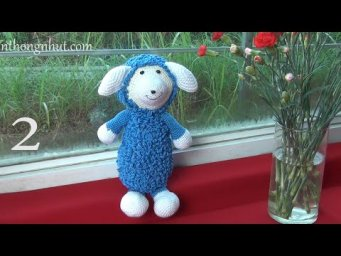How to Crochet sheep tutorial (eng sub)
