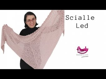 Tutorial Scialle triangolare   Led