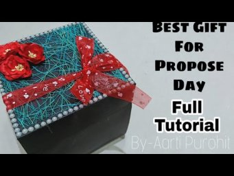Propose Day 2020 Best Gift|| proposal Explosion Box With Ring Inside|| Best proposal Gift||