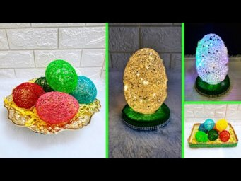 2 Economical Easter Craft made with waste materials |DIY Low budget Easter/Spring décor idea(Part15)