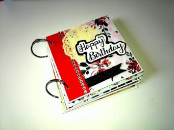 Beautiful Handmade Birthday Card | Birthday Gift Idea | Tutorial