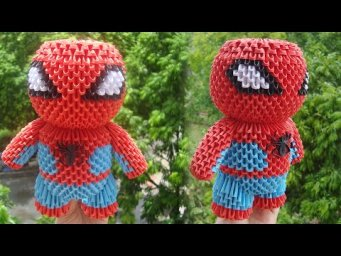 3D Origami Spider Man 2020 Tutorial ( better quality  video , step by step ) | DIY Paper Spider Man