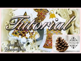 Christmas Embellishments | Shaker Embellishments feat Card Making Magic by Christina Griffiths