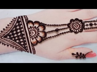 Arebic henna design_New mehndi design_#shorts