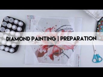 Diamond Painting - Preparation | Hexagon Flower