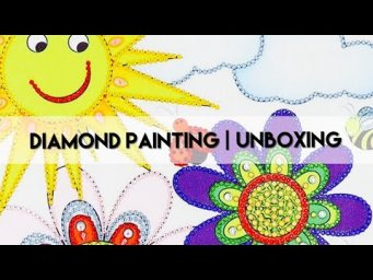 Diamond Painting - Unboxing | Everydayecrafts Pt2