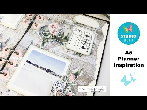 A5 Planner Inspiration With StudioLight