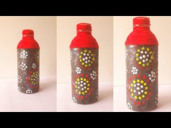 Best Out Of Waste Ideas | Glass Bottle Craft Ideas | Easy Glass Bottle Craft