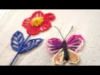 Hand Embroidery Ideas - Blanket Stitch