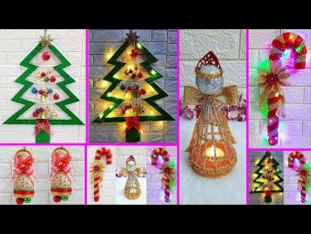 4 Economical Easy Christmas Craft idea | Best out of waste Low budget Christmas craft idea (Part 2)