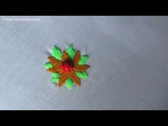 New Easy Hand Embroidery,Latest flower design