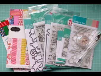 Card Making and Paper Craft Haul | Avery Elle, Paperie Ink, and more | Feb 2020