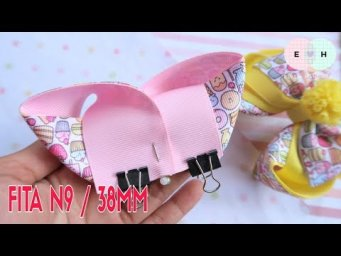 Amazing Ribbon Bow - Hand Embroidery Works - Ribbon Tricks & Easy Making Tutorial #70