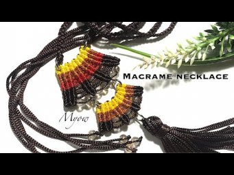 DIY MACRAME NECKLACE - CHINESE STYLE - MYOW 177