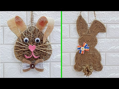 2 Economical Easter/spring craft with waste materials |DIY Low budget Easter décor idea (Part 26)