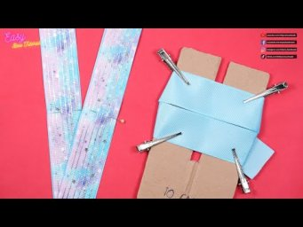 DIY Hair Accessories - Amazing Dual Triangle Hair Bows - Elysia Handmade