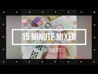 15 Minute Mixer #39 // Winners & News
