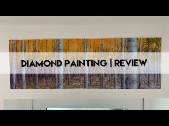 Diamond Painting - Completed & Mounting | Woodland