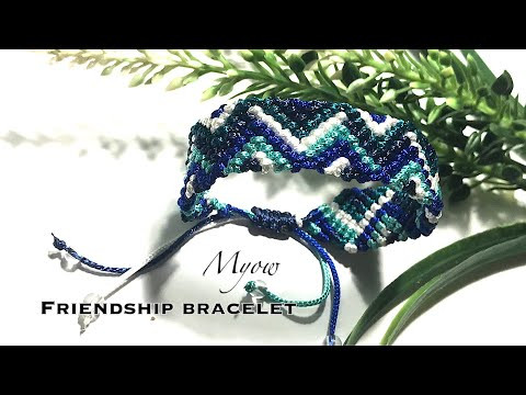 FRIENDSHIP BRACELET | TRIANGLE AND CHEVRON | MYOW 271