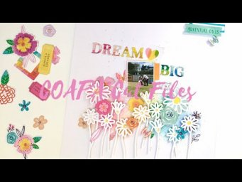 12x12 Scrapbook Process - Dream Big