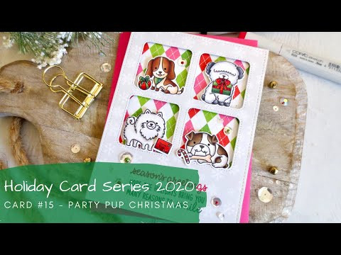 Holiday Card Serie 2020 #15 | Copic Coloring | Sunny Studio Stamps