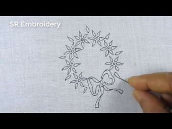Hand Embroidery Baby Dress Embroidery Patterns,Easy Beautiful Flower Embroidery Design,For Baby Froc