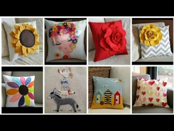 Pillow Cover design | Cushion cover design ideas | Heavenly Handmade Creations
