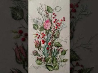 Hand Embroidery Designs / Embroidery designs / 3d Flower embroidery designs / 3d embroidery