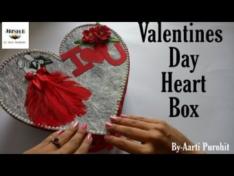 Valentines Day Special Heart Box Card||Two Step Heart box Card||BestValentines Day Gift