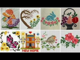 Marvelous Cross Stitch Pattern for Everything / punto de cruz / Cross Stitch for beginners