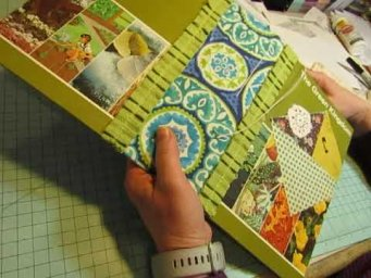 Start to Finish: Constructing a Glue Book: Part 3: Sewing in the Signatures