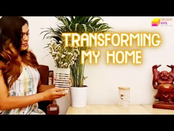 Home Transformation | Asian Paints ezyCR8 sprays | Srushti Patil