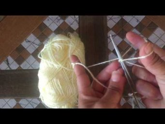 Knitting for beginners | How to knit for absolute beginners | @ The GURKHA knitting.