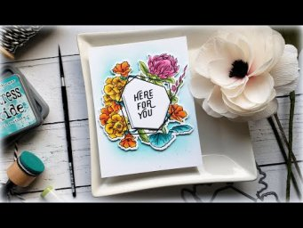 Erin Lee Creative Clean and Layered Floral Card: Sound Quality