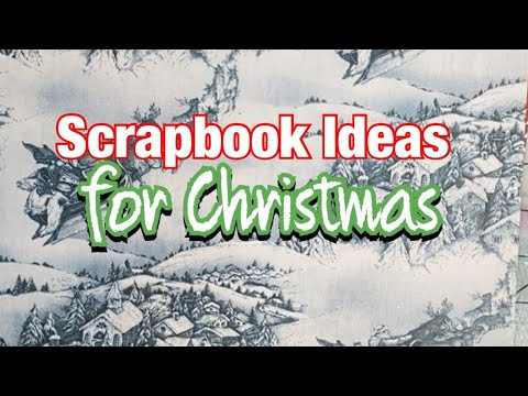 Christmas Scrapbook Layout - December 2020 For The Love Of Crafting And Sharing