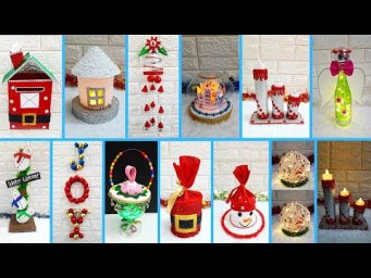 Low budget 12 Easy handmade Christmas craft idea at home |DIY Economical Christmas craft idea