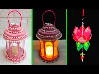 Best out of waste 2 Lantern made with empty plastic bottle at home | DIY Home Decorations Idea
