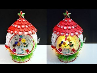 DIY Christmas Showpiece making idea step by step |DIY Economical Christmas Showpiece craft ideas