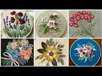 Hand Embroidery Designs / Embroidery designs  / Flower embroidery designs / Embroidery designs art
