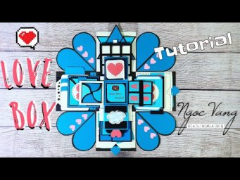 LOVE BOX FOR CRUSH - Phiên bản LOVE BOX BLUE- NGOC VANG