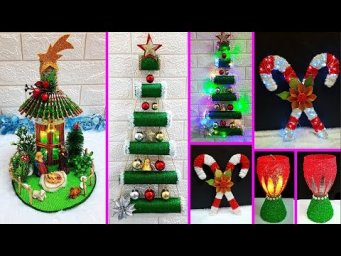Economical 4 Easy Handmade Christmas Craft idea | Best out of waste Low budget Christmas craft idea