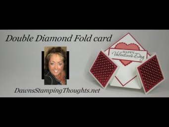 Double Diamond Fold Card