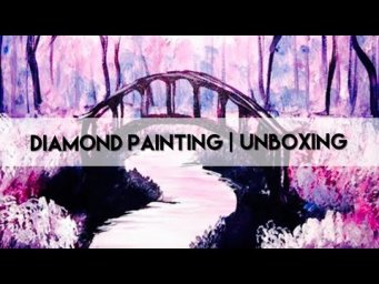 Diamond Painting - Unboxing | Fansells Friday